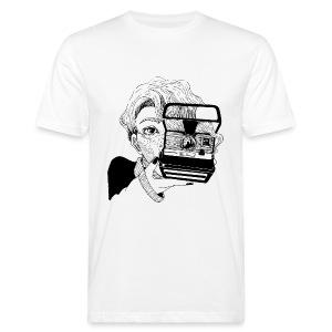 Polaroid Girl - Männer Bio-T-Shirt