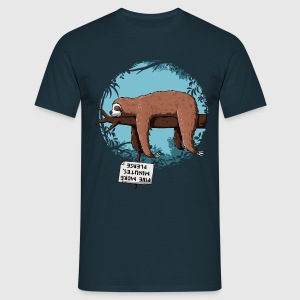 Navy Sloth T-Shirts - Men's T-Shirt