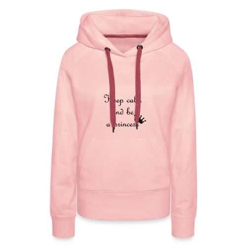 sweat femme rose  - Sweat-shirt à capuche Premium pour femmes