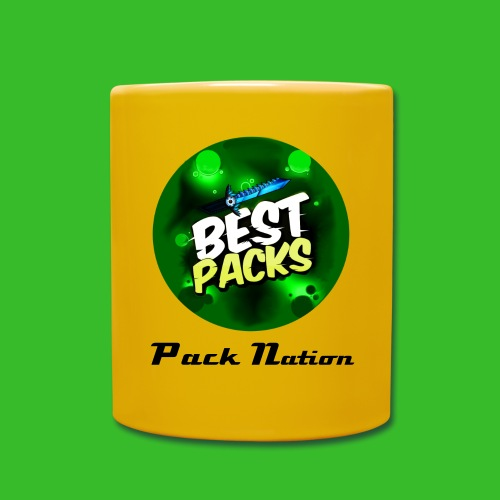 Yellow Pack Nation Cup -With Original Pack Nation Logo- - Full Colour Mug