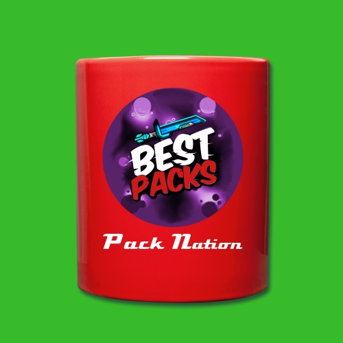Pack Nation Red Cup -Rare Purple Logo Edition- - Full Colour Mug