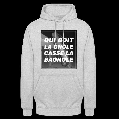 LA GNÔLE - Sweat-shirt à capuche unisexe