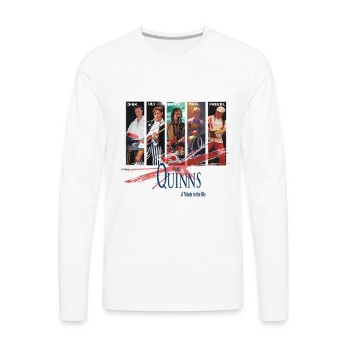 Herren Shirt Langarm - Männer Premium Langarmshirt