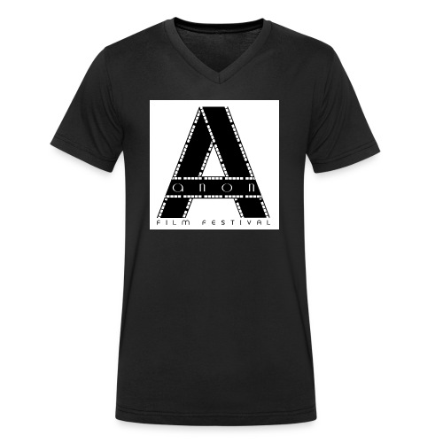 Anon Film Festival - Men's Organic V-Neck T-Shirt by Stanley & Stella