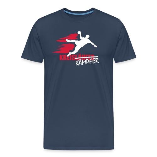 Kreiskämpfer weiß/rot - Männer Premium T-Shirt