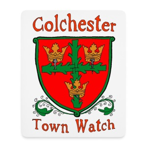 Colchester Town Watch Mouse Pad (vertical) - Mouse Pad (vertical)