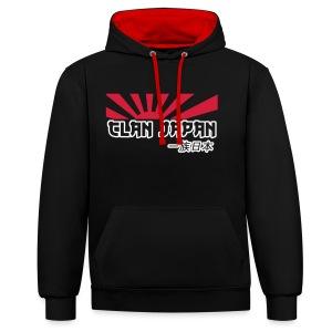 Clan JDM Hoody  - Contrast Colour Hoodie