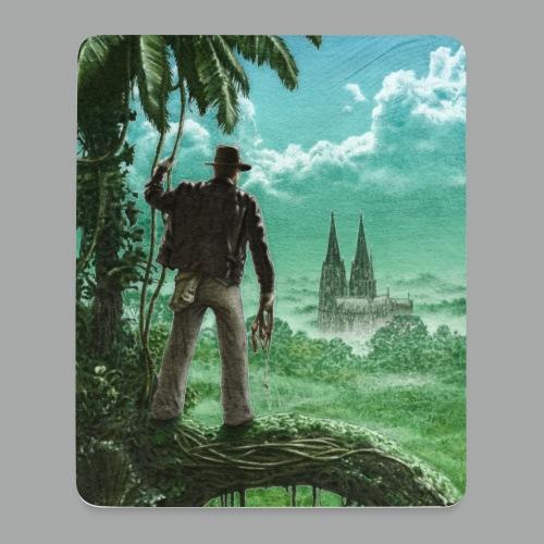 Abenteuer in Köln - Mousepad (Hochformat)