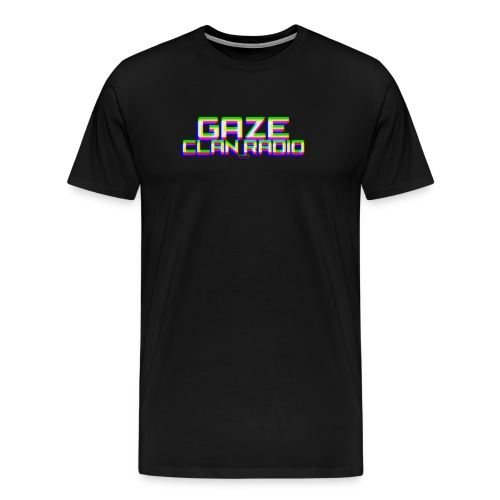 GaZe Clan Radio Logo Premium Tee - Men's Premium T-Shirt