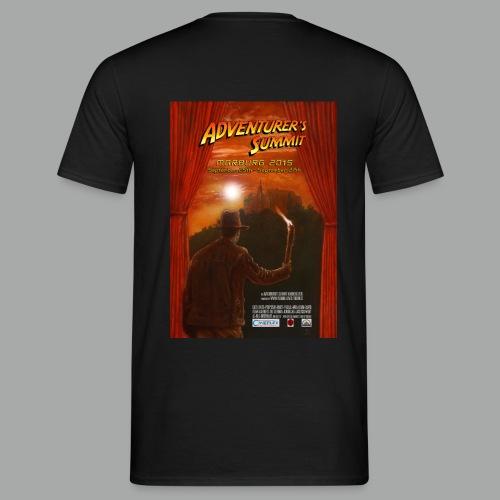 Adventurer's Summit Logo / Adventurer's Summit 2015 Poster - Männer T-Shirt