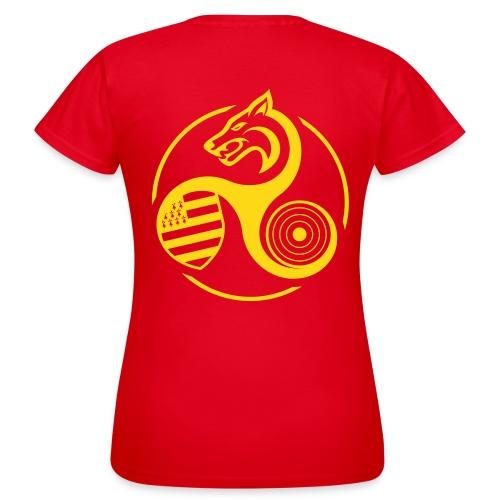 Tshirt pro femme b - T-shirt Femme