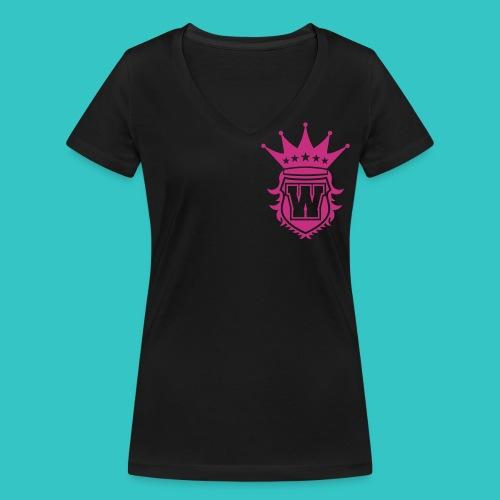 Damen V Ausschnit - Shirt - Frauen Bio-T-Shirt mit V-Ausschnitt von Stanley & Stella