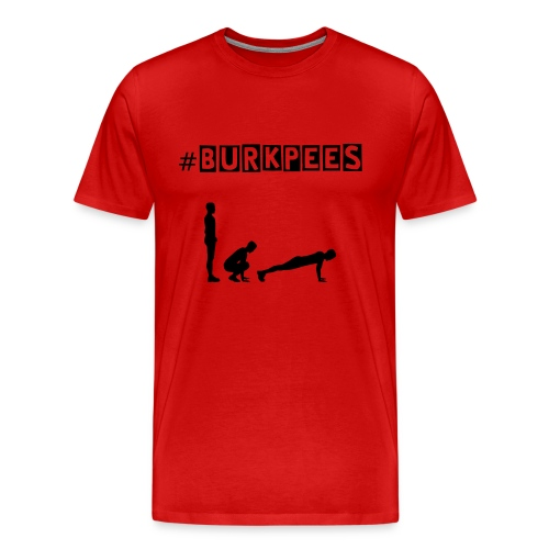 Burpees Lovers - T-shirt Premium Homme