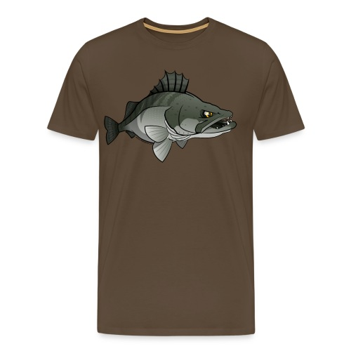 Red River Zander - Men's Premium T-Shirt