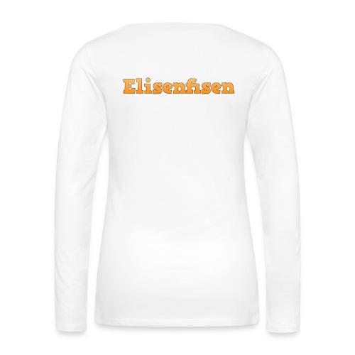 Dame langærmet med Elisenfisen - Women's Premium Longsleeve Shirt
