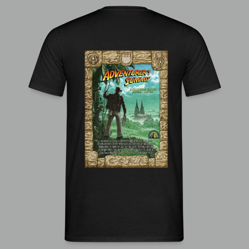 Adventurer's Summit Logo / Adventurer's Summit 2009 Poster - Männer T-Shirt