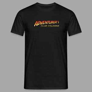 Adventurer's Club Cologne Logo - Männer T-Shirt
