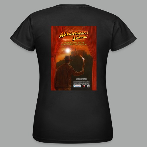 Adventurer's Summit Logo / Adventurer's Summit 2015 Poster - Frauen T-Shirt