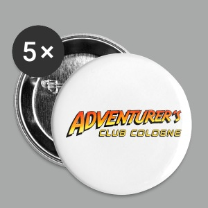 Adventurer's Club Cologne Logo - Buttons groß 56 mm