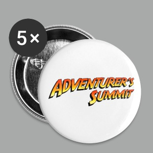 Adventurer's Summit Logo - Buttons groß 56 mm