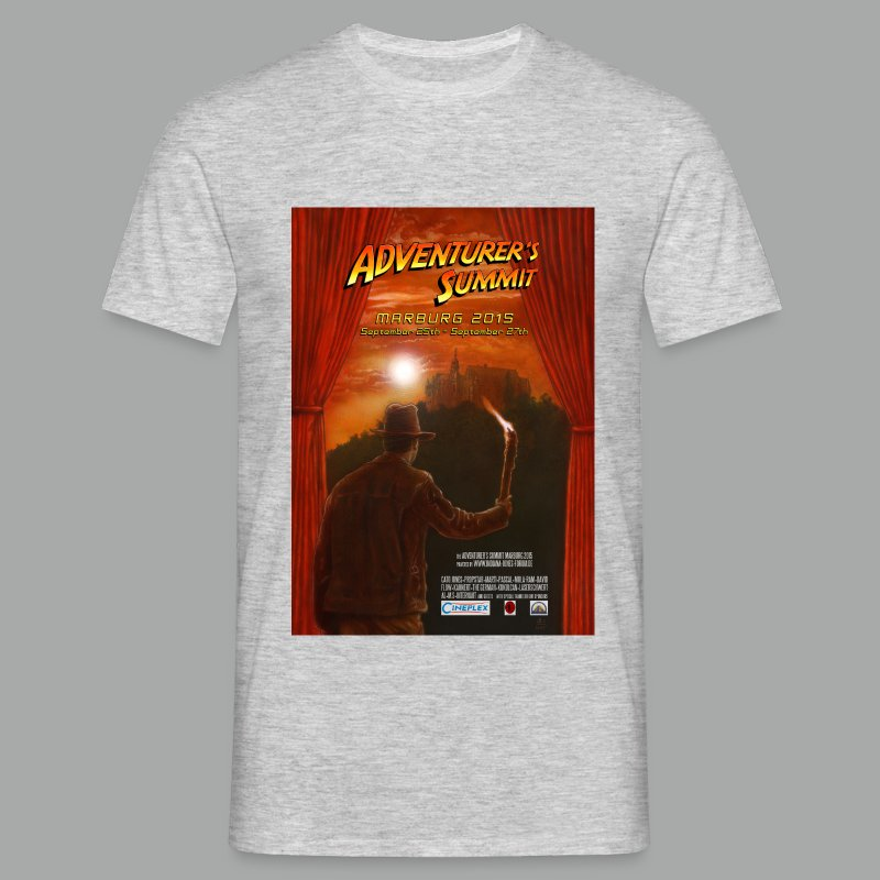 Adventurer's Summit 2015 Poster - Männer T-Shirt