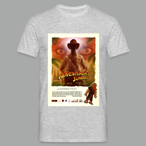 Adventurer's Summit 2014 Poster - Männer T-Shirt