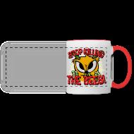 Tassen & Zubehör ~ Panoramatasse ~ stop killing the bees!