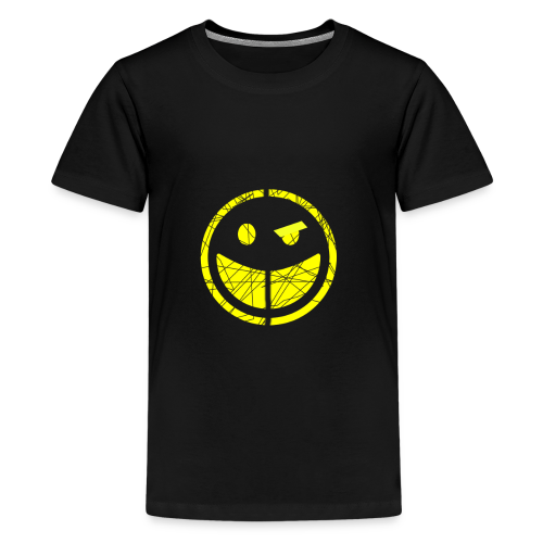 smilly face sad face t-shirt - Teenage Premium T-Shirt