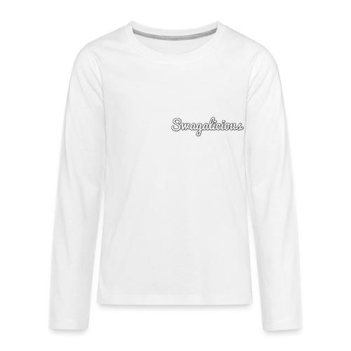 Teenager's Swagalicious Shirt - Teenagers' Premium Longsleeve Shirt