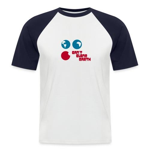 CLONE EARTH - T-shirt baseball manches courtes Homme