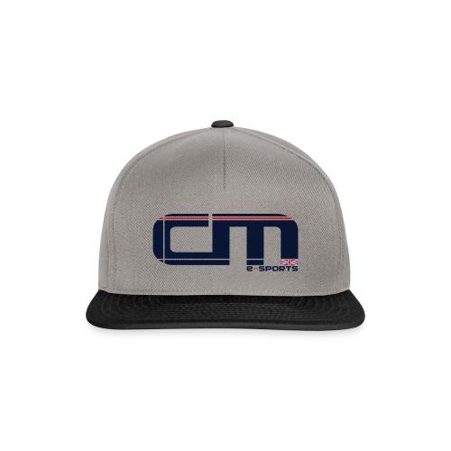 CaLL Me eSports - Baseball Cap Grey/Black - Snapback Cap