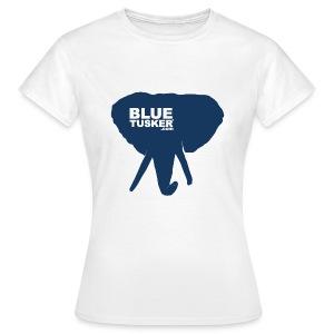 BlueTusker - Blue Head - Frauen T-Shirt