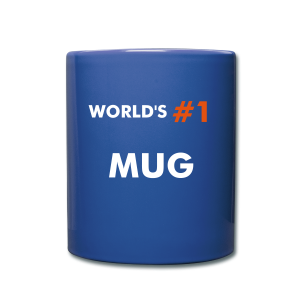 world's #1 mug - Full Colour Mug