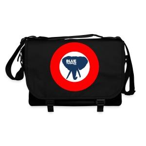 BlueTusker - Messanger Bag schwarz - Umhängetasche