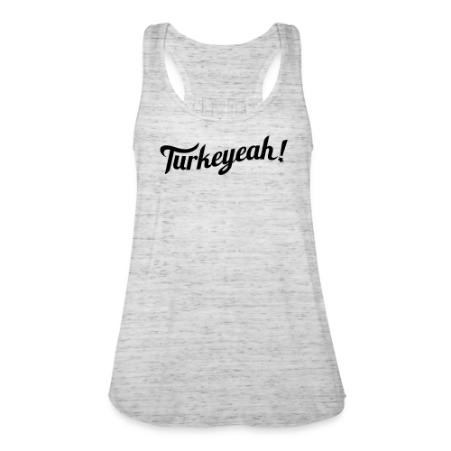 Turkeyeah! Wave Women Racerback Top Grey/Black - Frauen Tank Top von Bella