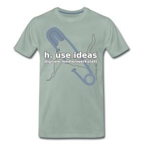 use ideas silbergrau - Männer Premium T-Shirt