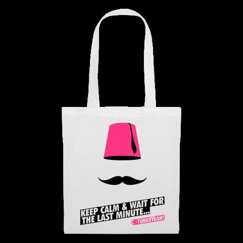 FEZ! Wave Tasche White/Black/Pink - Stoffbeutel