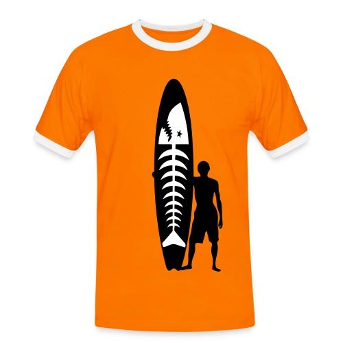Surfer - surfeur - Men's Ringer Shirt