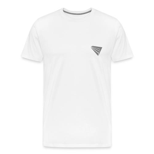 Avium White Tee - Men's Premium T-Shirt