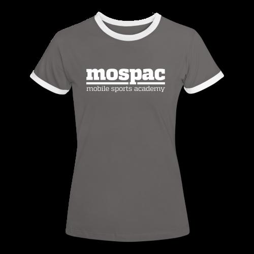 mospac woman - Women's Ringer T-Shirt