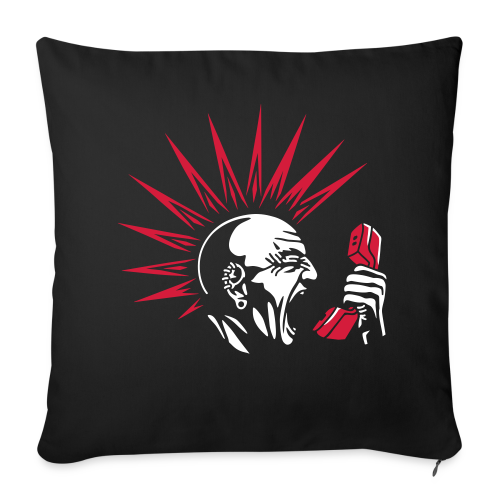Friendly scanner cushion - Sofa pillowcase 17,3'' x 17,3'' (45 x 45 cm)