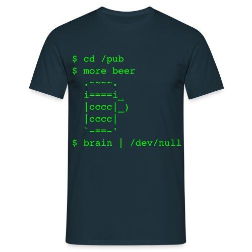 /pub/beer /dev/null - Männer - Männer T-Shirt