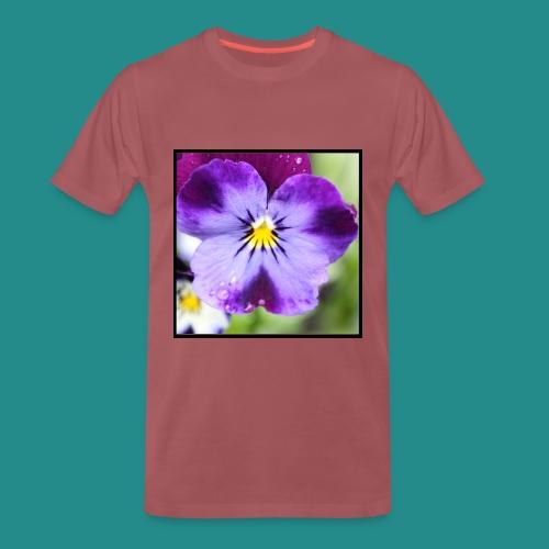 Violet Flower - Men's Premium T-Shirt