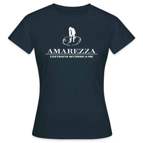 Maglietta Amarissima nera donna 2016 - Maglietta da donna