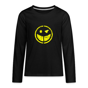 teenage smilly long sleeve t-shirt - Teenagers' Premium Longsleeve Shirt