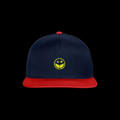 smilly snapback cap - Snapback Cap