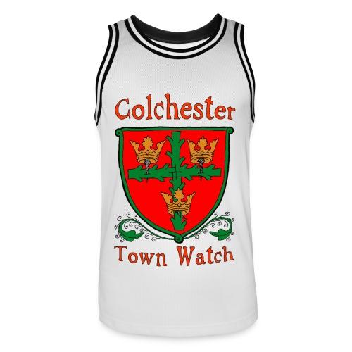 Colchester Town Watch Men's Basketball Jersey - Men's Basketball Jersey