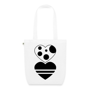 Hearts in love - EarthPositive Tote Bag