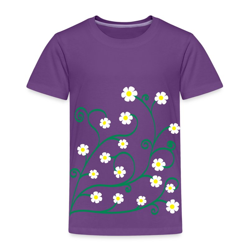 geringelte Blümlis - Kinder Premium T-Shirt