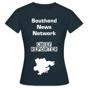 Southend News Network Chief Reporter Essex T-Shirt - Ladies - Women's T-Shirt